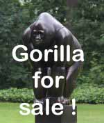 Gorilla for sale